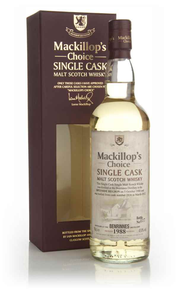Benrinnes 23 Year Old 1988 (cask 2836) - Mackillop's Choice
