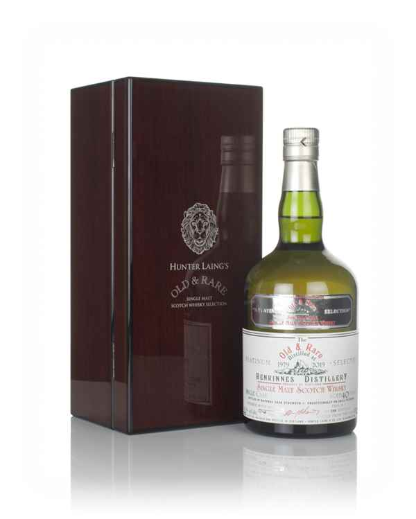 Benrinnes 40 Year Old 1979 - Old & Rare Platinum (Hunter Laing)