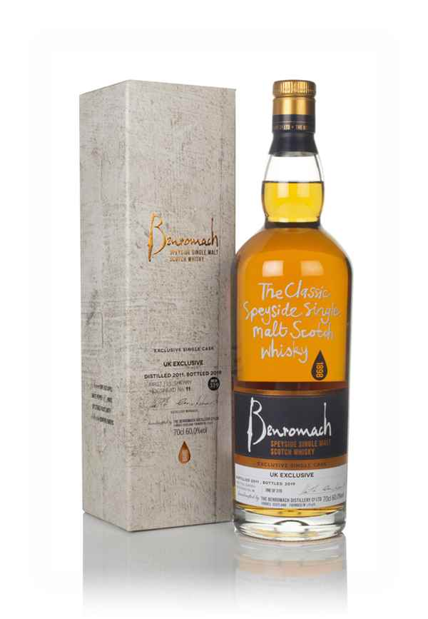 Benromach 2011 (bottled 2019) - UK Exclusive