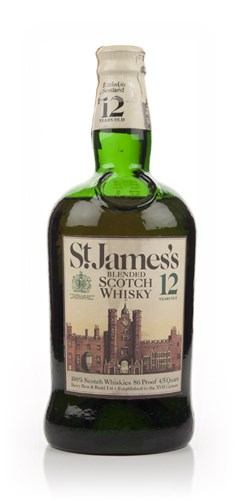 St. James's 12 Year Old Blended Scotch Whisky - 1970s