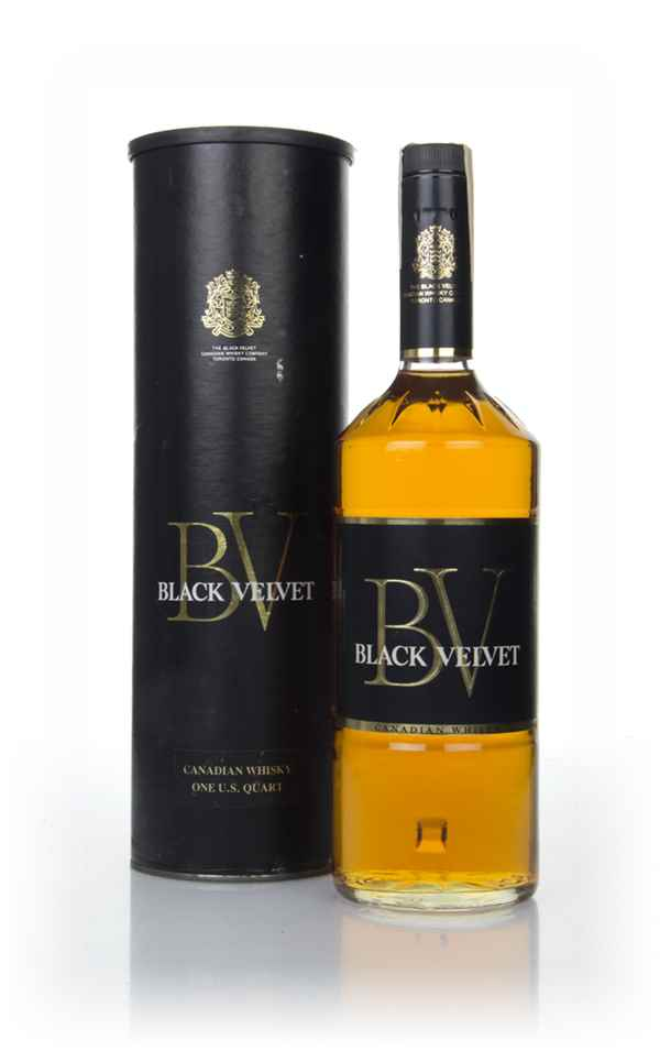 Black Velvet Canadian Whisky - 1973