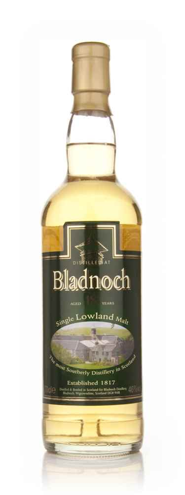 Bladnoch 18 Year Old - Distillery Label