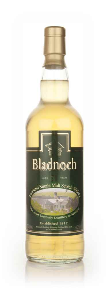 Bladnoch 21 Year Old - Distillery Label