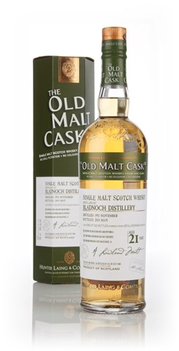 Bladnoch 21 Year Old 1992 (cask 10418) - Old Malt Cask (Hunter Laing)