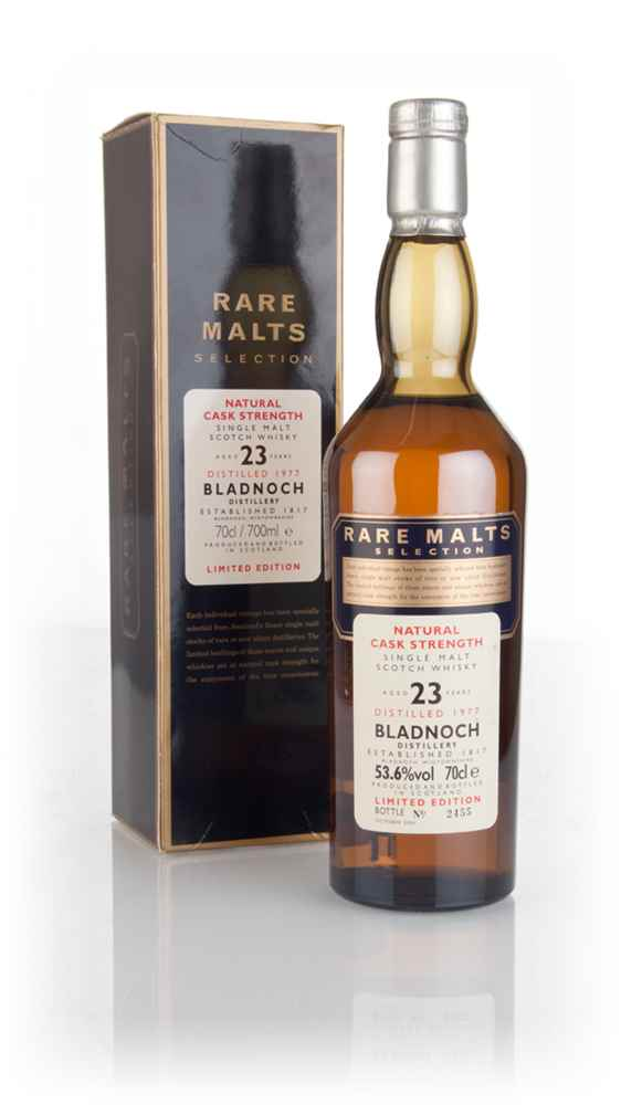 Bladnoch 23 Year Old 1977 - Rare Malts