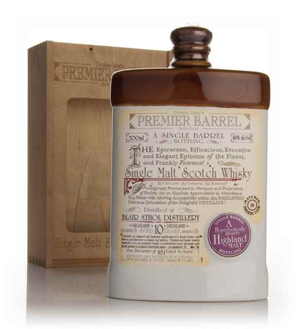 Blair Athol 10 Year Old - Premier Barrel (Douglas Laing)
