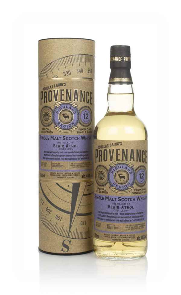 Blair Athol 12 Year Old 2007 (cask 13537) - Provenance (Douglas Laing)