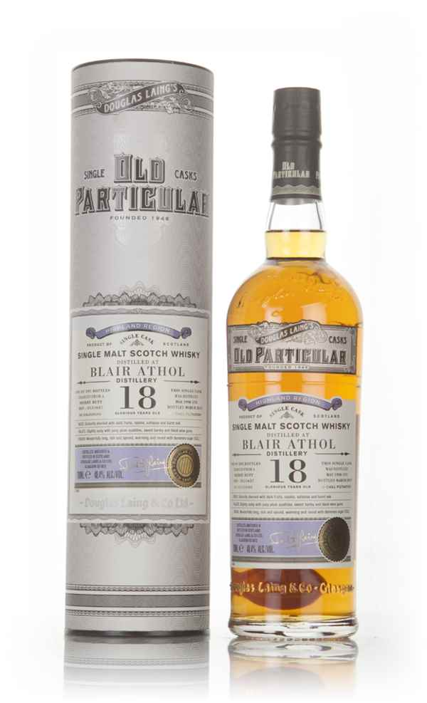 Blair Athol 18 Year Old 1998 (cask 11637) - Old Particular (Douglas Laing)