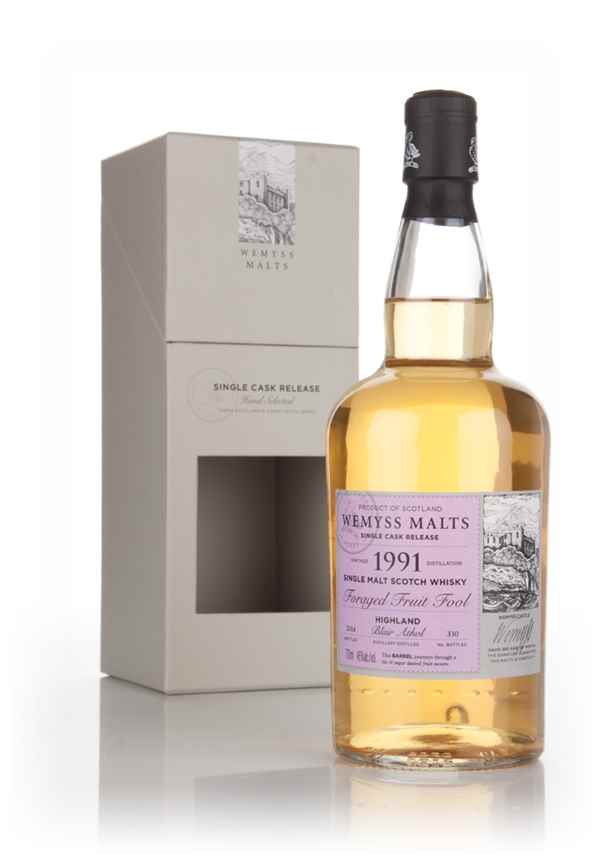 Foraged Fruit Fool 1991 (bottled 2014) - Wemyss Malts (Blair Athol)