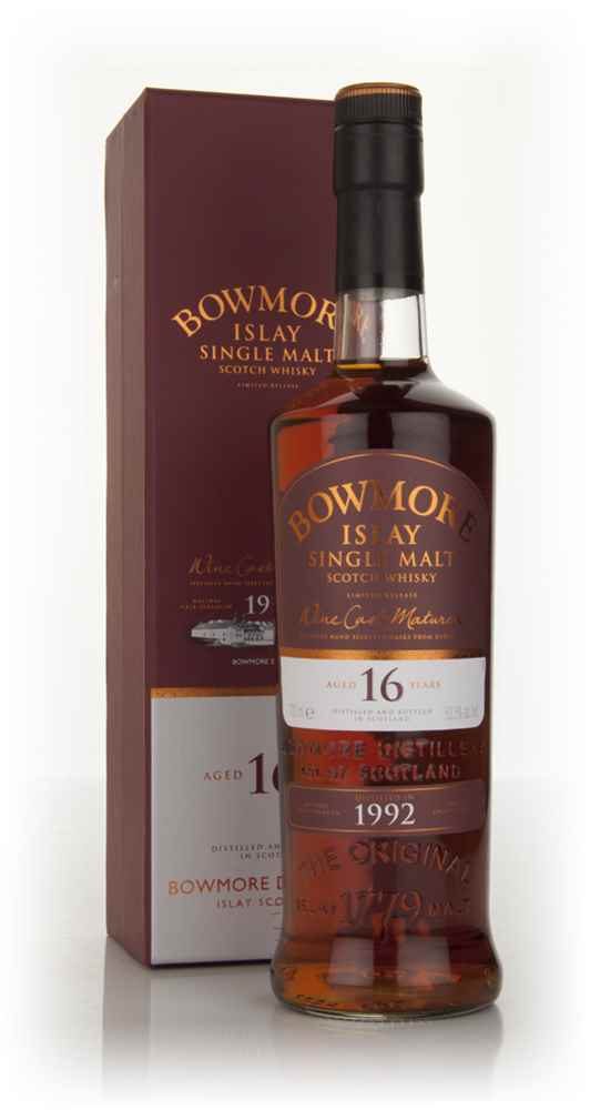 Bowmore 16 Year Old 1992 Bordeaux Wine Cask Finish