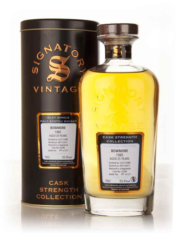 Bowmore 25 Year Old 1985 Cask 32206 - Cask Strength Collection (Signatory)