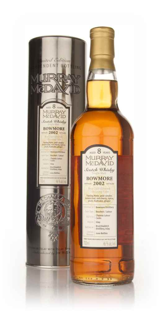 Bowmore 8 Year Old 2002 (Murray McDavid)
