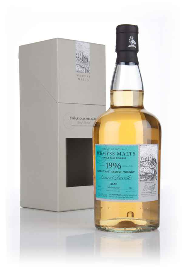 Aniseed Pastille 1996 - Wemyss Malts (Bowmore)