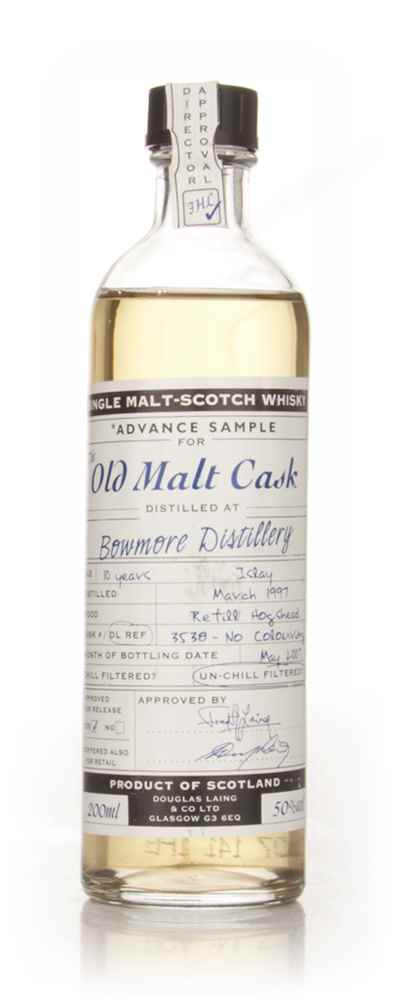 Bowmore 10 Year Old 1997 Advance Sample - Old Malt Cask (Douglas Laing)