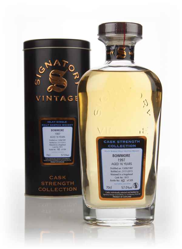 Bowmore 16 Year Old 1997 (cask 1913) - Cask Strength Collection (Signatory)