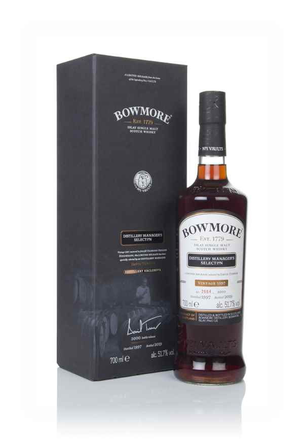 Bowmore 1997 (bottled 2019) Distillery Manager's Selection - Distillery Exclusive