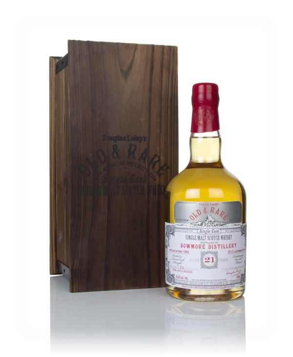 Bowmore 21 Year Old 1990 - Old & Rare Platinum (Douglas Laing)