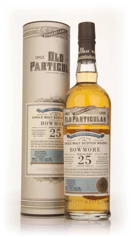 Bowmore 25 Year Old 1987 (cask 9906) - Old Particular (Douglas Laing)