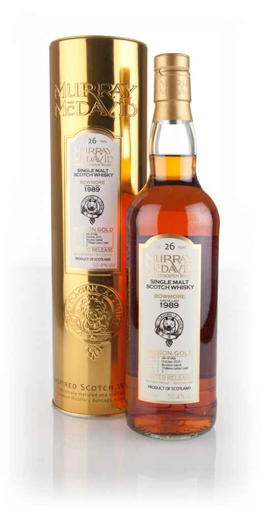 Bowmore 26 Year Old 1989 (cask 3) - Mission Gold (Murray McDavid)