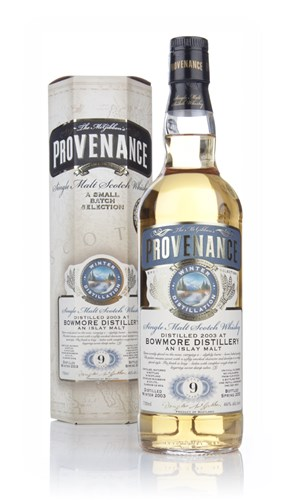 Bowmore 9 Year Old 2003 (cask 9574) - Provenance (Douglas Laing)