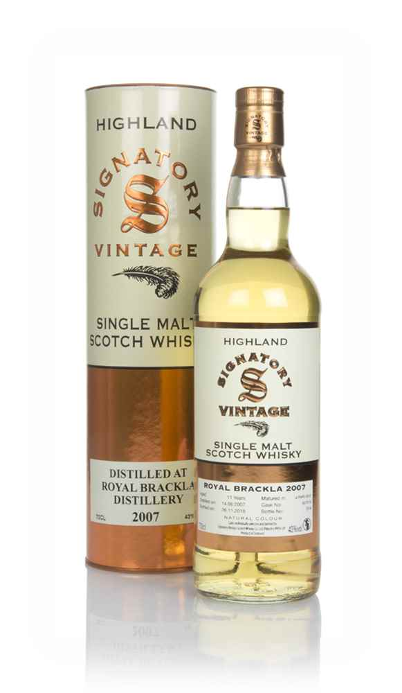 Royal Brackla 11 Year Old 2007 (cask 307918) - Signatory