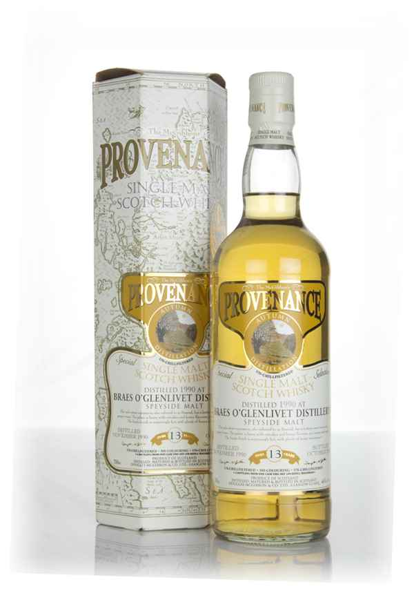 Braes of Glenlivet 13 Year Old 1990 - Provenance (Douglas Laing)