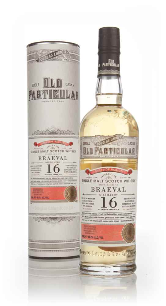 Braeval 16 Year Old 1997 (cask 10280) - Old Particular (Douglas Laing)