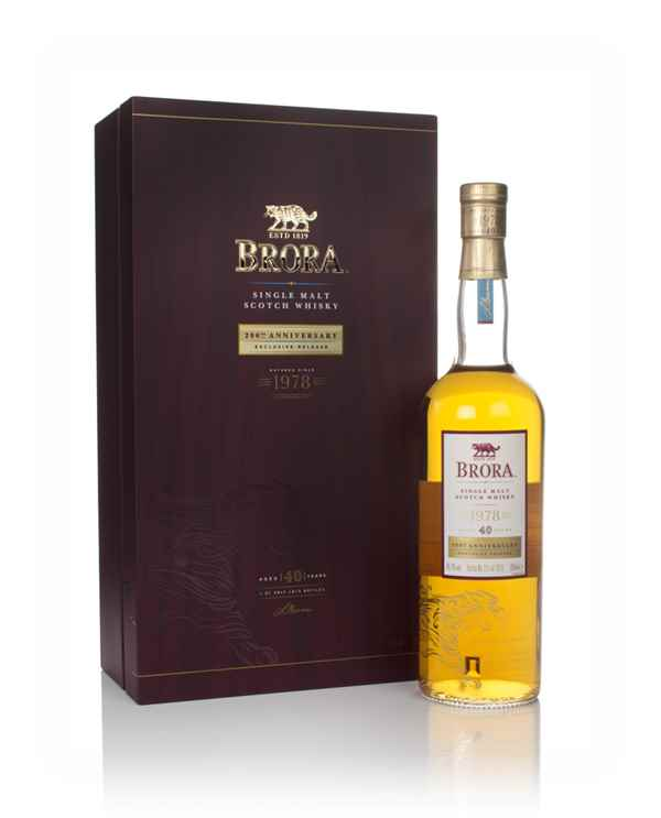 Brora 40 Year Old 1978 - 200th Anniversary Release