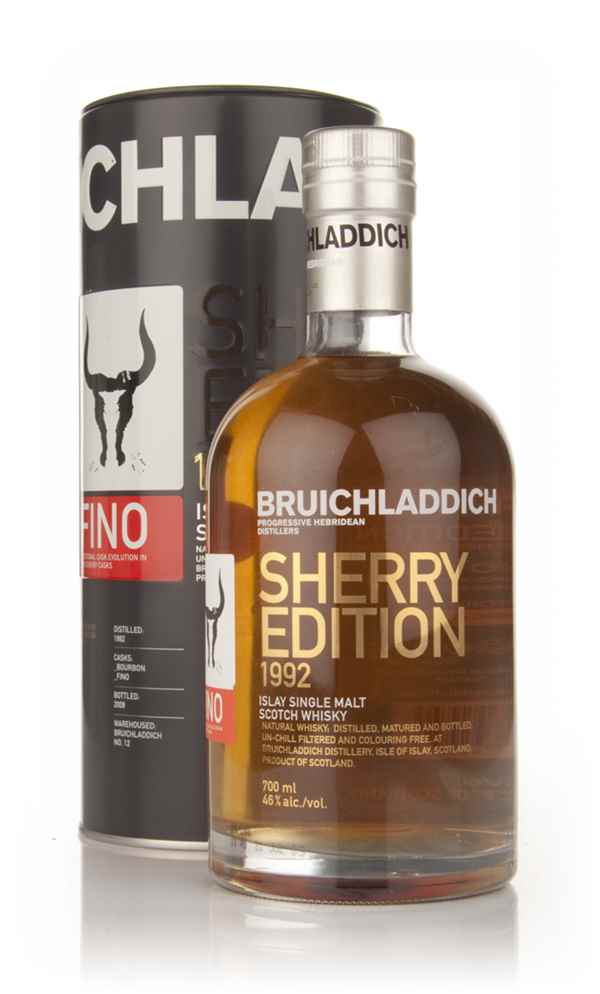 Bruichladdich 17 Year Old Fino Sherry