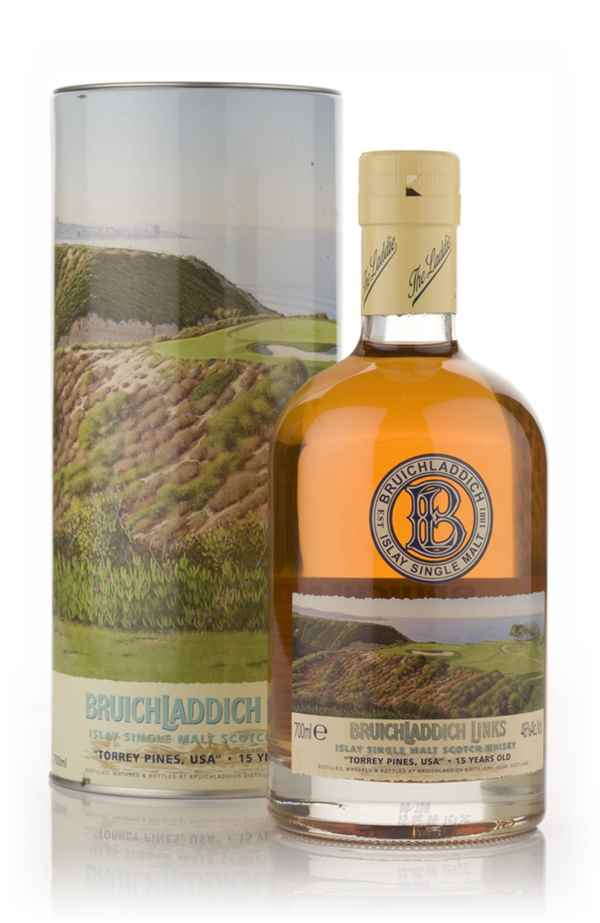 Bruichladdich 15 Year Old - Links Series Torrey Pine