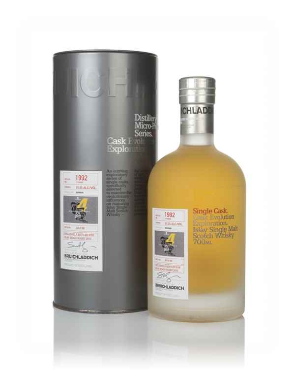 Bruichladdich 17 Year Old 1992 (Islay Beach Rugby 2010) - Micro-Provenance Series