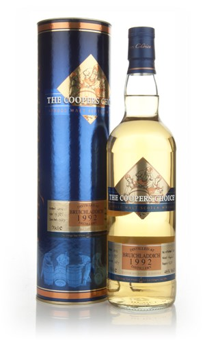Bruichladdich 19 Year Old 1992 - The Coopers Choice (The Vintage Malt Whisky Co.)