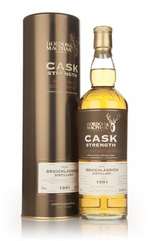 Bruichladdich 1991 (casks 2778+2779) - Cask Strength (Gordon and MacPhail)