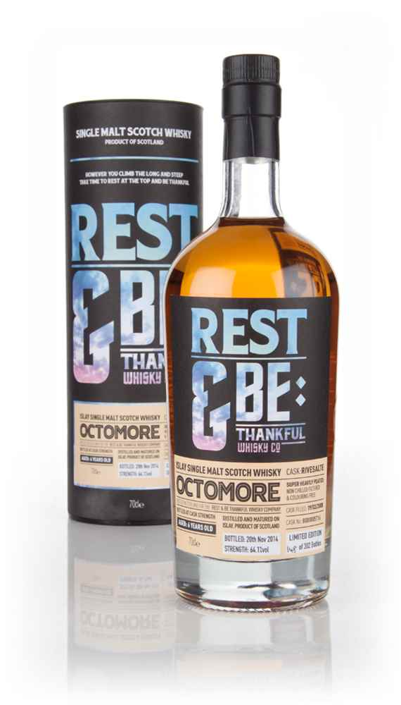 Octomore 6 Year Old 2008 (cask 5716) - Rivesaltes Cask (Rest & Be Thankful)
