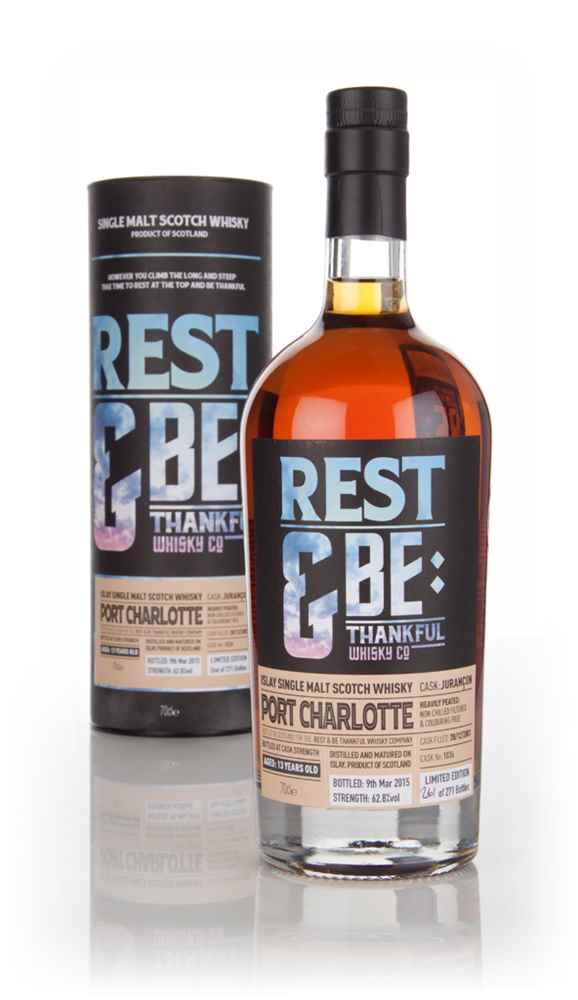 Port Charlotte 13 Years Old 2001 (cask 1036) (Rest & Be Thankful)