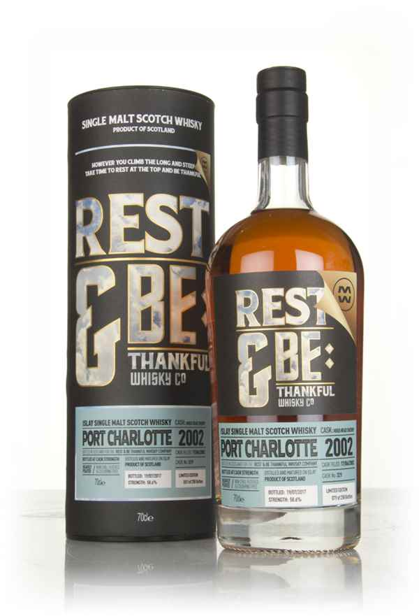 Port Charlotte 15 Year Old 2002 (cask 329) (Rest & Be Thankful)