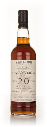 Bunnahabhain 20 Year Old 1990 - Single Cask (Master of Malt)