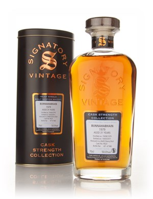 Bunnahabhain 31 Year Old 1979 Cask 9523 - Cask Strength Collection (Signatory)