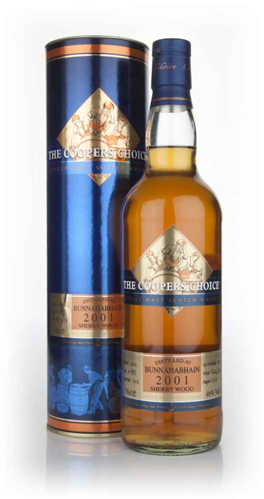 Bunnahabhain 10 Year Old 2001 - The Coopers Choice (The Vintage Malt Whisky Co.)