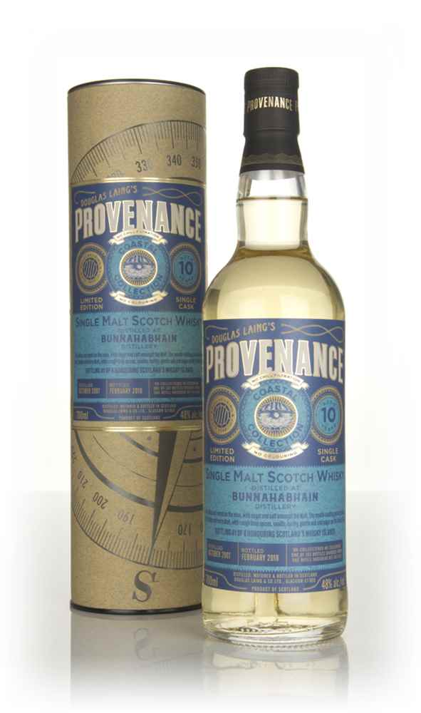 Bunnahabhain 10 Year Old 2007 (cask 11420) - Provenance Coastal Collection (Douglas Laing)