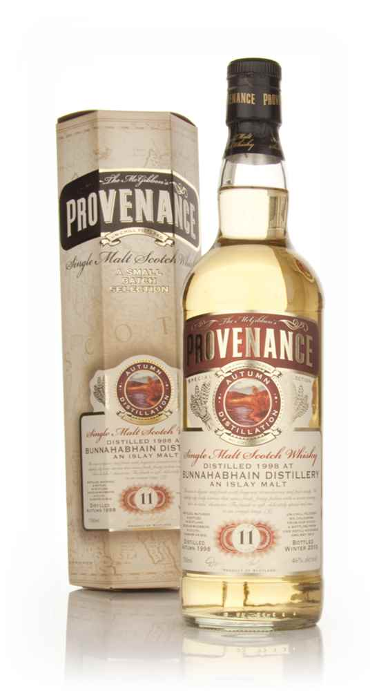 Bunnahabhain 11 Year Old 1998 - Provenance (Douglas Laing)