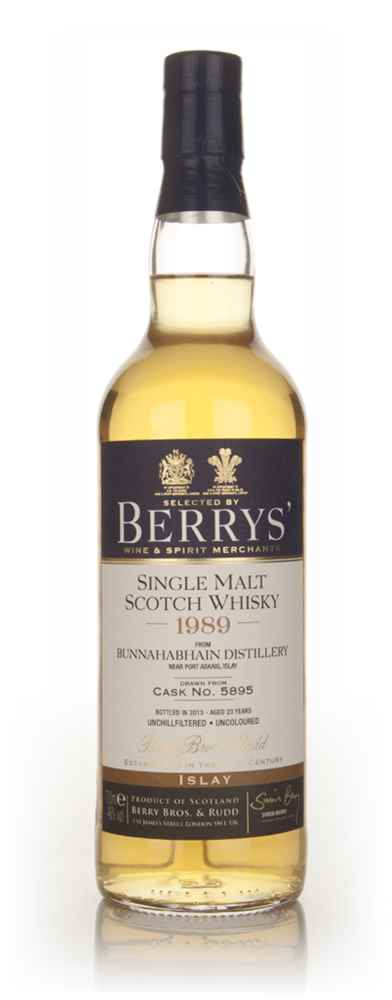 Bunnahabhain 23 Year Old 1989 (cask 5895) - (Berry Bros. & Rudd)