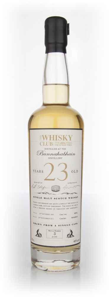 Bunnahabhain 23 Year Old 1989 (The Whisky Club)