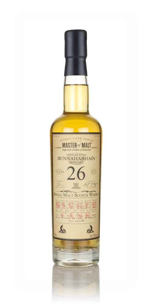 Bunnahabhain 26 Year Old 1989 - Single Cask (Master of Malt)