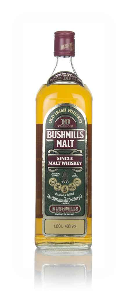 Bushmills 10 Year Old (1L) - 1980s