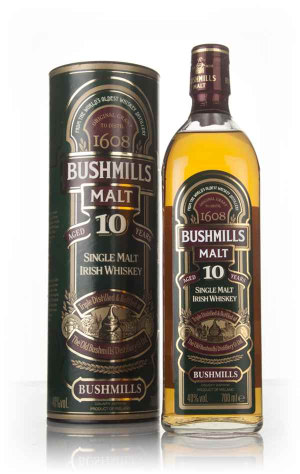 Bushmills 10 Year Old - post-1999