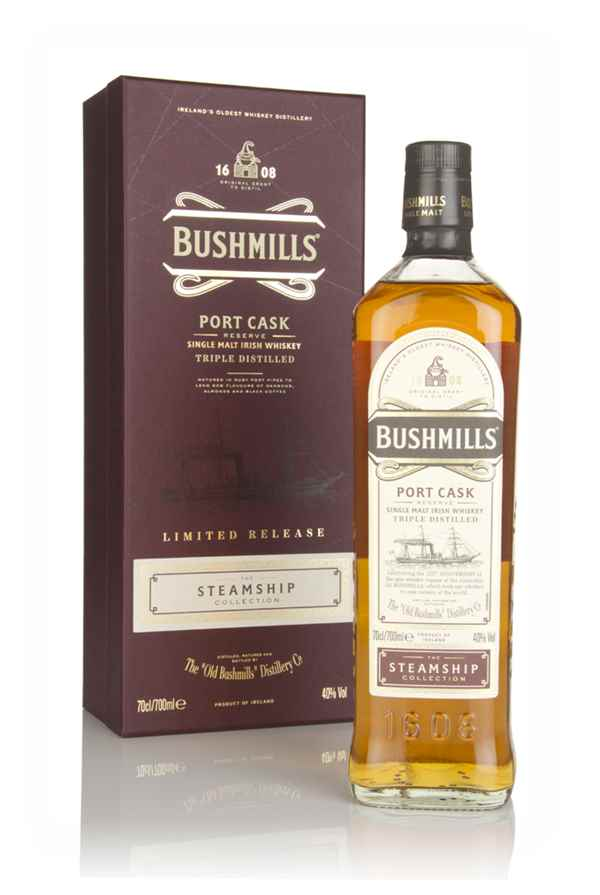 Bushmills Port Cask Reserve - Steamship Collection