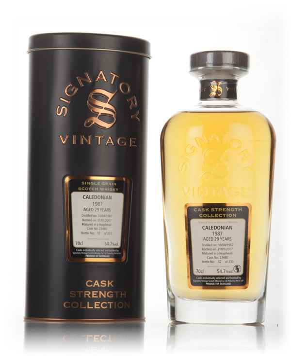 Caledonian 29 Year Old 1987 (cask 23480) - Cask Strength Collection (Signatory)