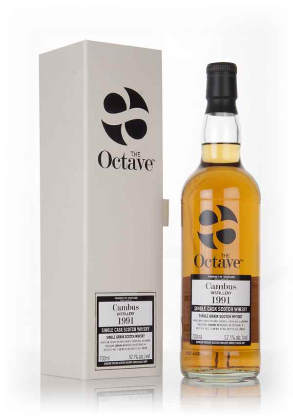 Cambus 24 Year Old 1991 (cask 1112914) - The Octave (Duncan Taylor)