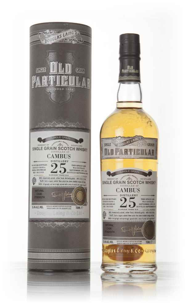 Cambus 25 Year Old 1991 (cask 11353) - Old Particular (Douglas Laing)